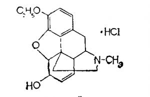 Этилморфина гидрохлорид (дионин)